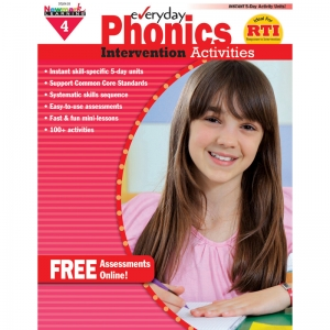 EVERYDAY PHONICS GR 4 INTERVENTION  ACTIVITIES