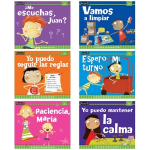 CONTROL OF MYSELF SPANISH 6 PK BK  MYSELF READERS