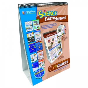 MIDDLE SCHOOL EARTH SCIENCE FLIP  CHART SET
