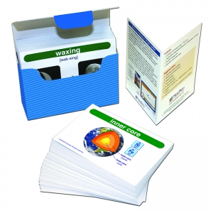 EARTH SCIENCE VOCABULARY BUILDER  FLASH CARD SET MIDDLE SCHOOL