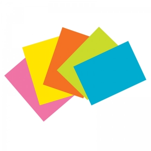 SUPER BRIGHT INDEX CARDS 4X6 UNRULE