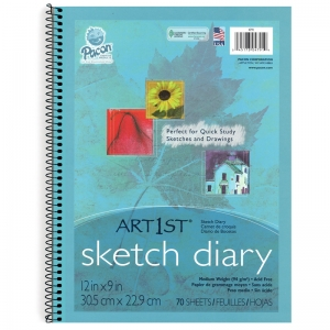 ART1ST SKETCH DIARY 12 X 9