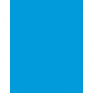 POSTER BOARD 22X28 BLUE 6 PLY 25SHT  COATED