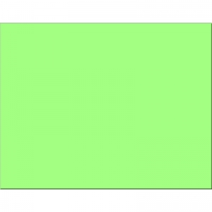 PEACOCK LIGHT GREEN 25CT 4PLY 22X28  POSTER BOARD