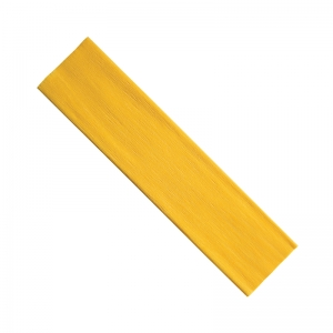 "Creativity Street Crepe Paper, Yellow, 20"" x 7-1/2', 1 Sheet"