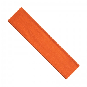 "Creativity Street Crepe Paper, Orange, 20"" x 7-1/2', 1 Sheet"