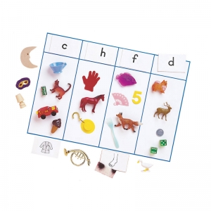 SOUND SORTING WITH OBJECTS  CONSONANT SOUNDS