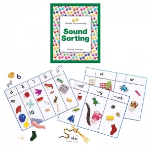 SOUND SORTING WITH OBJECTS COMPLETE  KIT