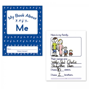 MY BOOK ABOUT ME SET OF 20