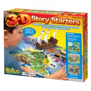 3D STORY STARTERS