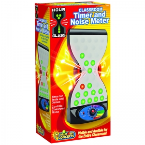 HOURGLASS 2 IN 1 CLASSROOM TIMER &  NOISE CONTROLLER