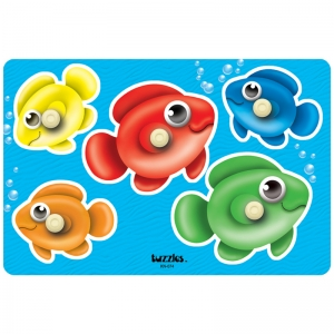 BUBBLE FISH PEG PUZZLE