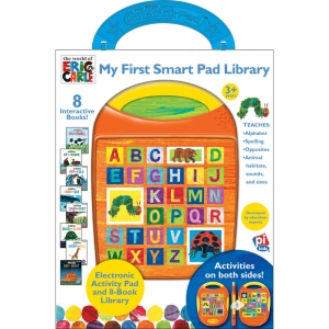 MY FIRST SMART PAD BOX SET ERIC  CARLE