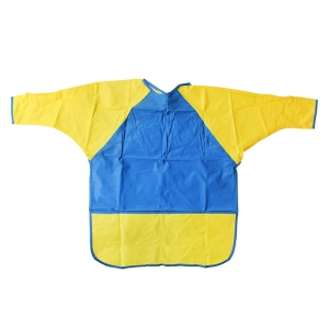 KINDER SMOCKS LONG SLEEVES AGES 6-8  W/ POCKET