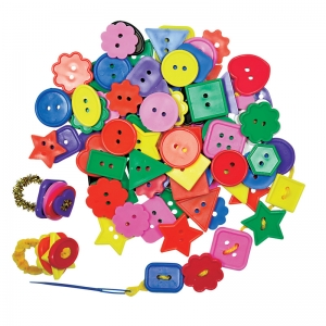 CRAFT BUTTONS-1/2LB