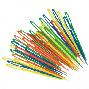 Roylco� Plastic Lacing Needles, 32/pkg