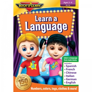 ROCK N LEARN LEARN A LANGUAGE DVD  NUMBERS COLORS AND MORE