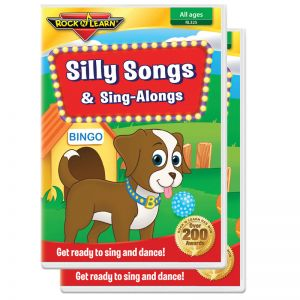 Silly Songs & Sing Alongs DVD, Pack of 2