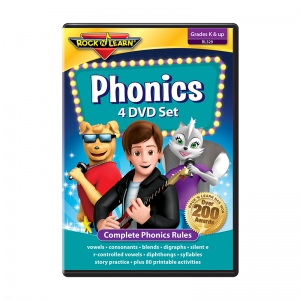 ROCK N LEARN PHONICS 4 DVD SET
