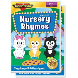 Nursrey Rhymes DVD, Pack of 2