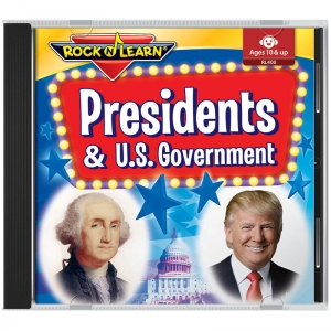 PRESIDENTS/US GOV BOOK AND CD SET