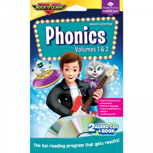 PHONICS DOUBLE CD & BOOK PROGRAM