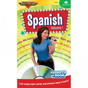 SPANISH VOL 1 CD & BOOK