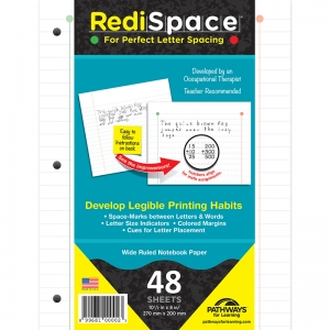 REDI SPACE TRANSITIONAL NOTEBOOK  PAPER 48 SHTS