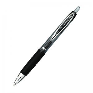 UNI BALL GEL 207 BLACK RETRACTABLE  GEL PEN MEDIUM POINT