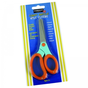 CHILDS COMFY GRIP SCISSORS 5 IN  BLUNT TIP