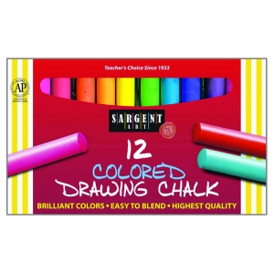 12CT DRAWING CHALK