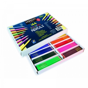 144CT SARGENT COLORED PENCIL BEST  BUY ASSORTMENT 8 COLORS 18 OF EACH
