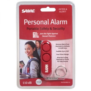 (3 EA) RED PERSONAL ALARM SUPPORTS RAINN