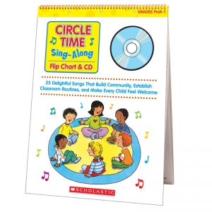 CIRCLE TIME SING ALONG FLIP CHART &  CD
