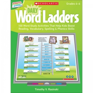 DAILY WORD LADDERS GR 4-6  INTERACTIVE WHITEBOARD ACTIVITIES