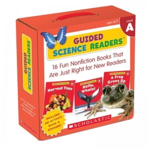 LEVEL A GUIDED SCIENCE READERS  PARENT PACK