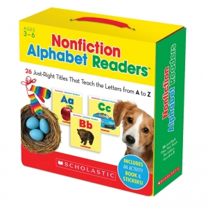 Nonfiction Alphabet Readers, Parent Pack, Pack of 26