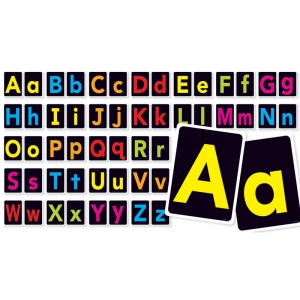 BIG LETTERS A-Z BULLETIN BOARD