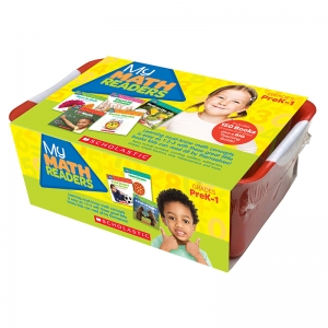 Scholastic My Math Readers Classroom Tub, Pack of 151