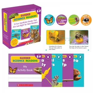 Guided Science Readers, Levels EF, Parent Pack, Set of 12 Books