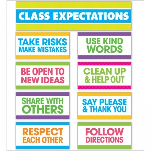 Class Expectations Mini Bulletin Board