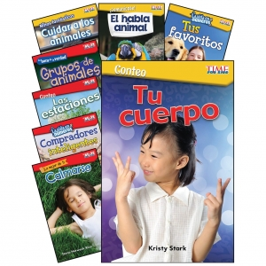 MATH/SCIENCE SPANISH GR K1 8 BOOK SET TIME FOR KIDS