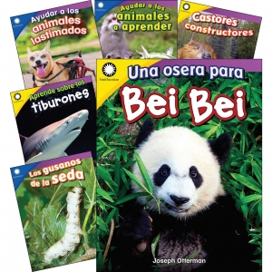 ANIMALS SPANISH GR K1 6 BOOK SET SMITHSONIAN INFORMATIONAL TEXT