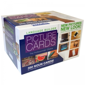 Language Builder: Picture Nouns Card Set 1, Pack of 350