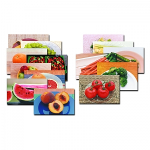 FRUITS & VEGETABLES POSTER SET-14