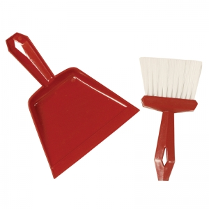 DUST PAN & WHISK BROOM SET
