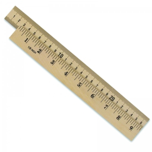 WOODEN METER STICK PLAIN ENDS