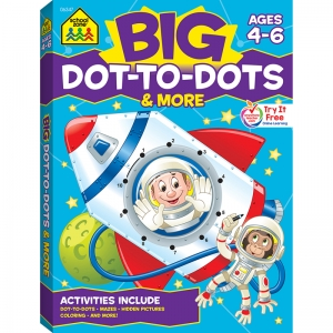 BIG WORKBOOK ALPHABET DOT TO DOTS