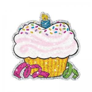 SPARKLE ACCENTS 24/PK BIRTHDAY  CUPCAKES 5 X 5