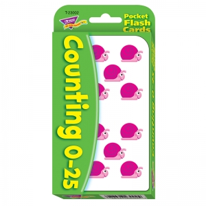 Counting 025 Pocket Flash Cards
